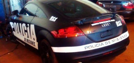 Se filtraron fotos del increíble Audi que próximamente incorporará la policía de Misiones a su flota