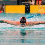 Natación: Juampi Bande fue séptimo en la final de los 50 metros mariposa