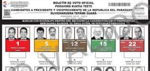 Elecciones en Paraguay: mañana por primera vez en la historia del país se utilizarán boletas escritas en guaraní