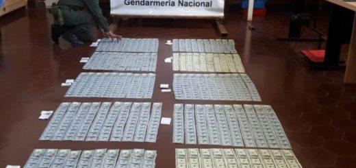 Caen en Corrientes dos valijeros que habían partido de Misiones con 140 mil dólares