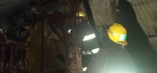 Los daños fueron totales en la empaquetadora incendiada en Eldorado