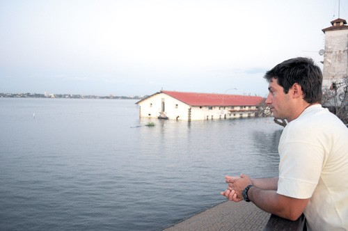 """Bacigalupi: """"Me parece bien que se haga deporte en el río porque en la tragedia la culpa fue de los organizadores no del deporte"""""""
