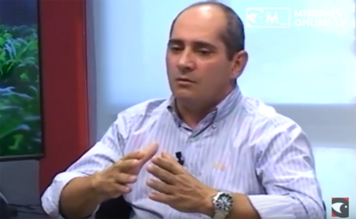 """""""Tenemos que desarrollar mercados para nuestros productores"""", sostuvo Adrián Luna Vázquez"""