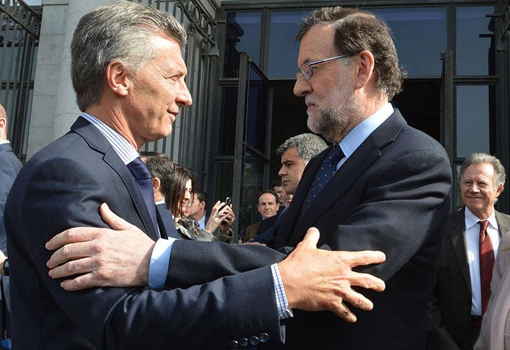 El presidente Mauricio Macri recibirá hoy al presidente del Gobierno de España, Mariano Rajoy