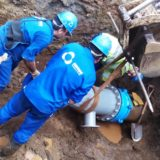 Samsa finalizó trabajos en zona sur y se normaliza el servicio de agua