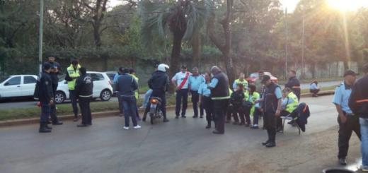 Paro de inspectores de Tránsito en Posadas: denuncian supuestas maniobras irregulares para liberar autos del corralón