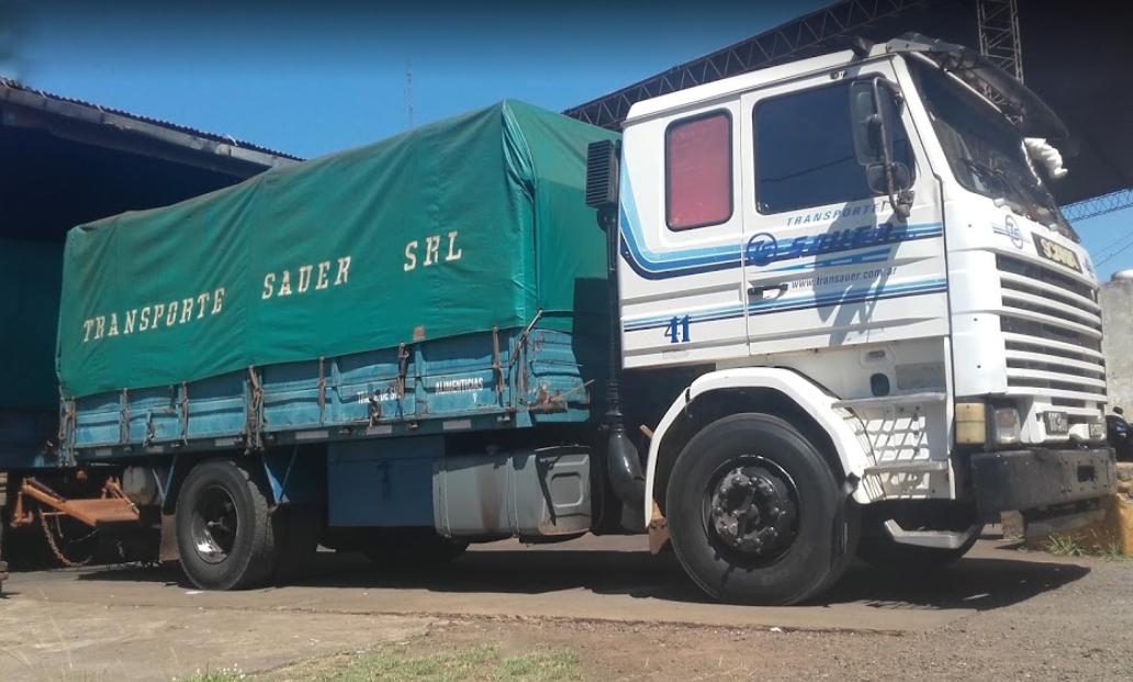 Rodolfo «Neco» Sauer confirmó la situación complicada de su empresa de transportes de cargas