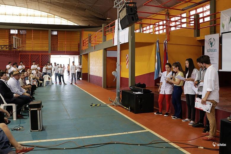 Scholas Ciudadanía en Aristóbulo del Valle: «Los jóvenes de Misiones piden ser escuchados por los adultos»