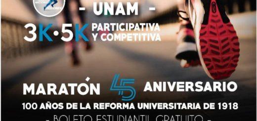 Harán una maratón por los 45 años de la UNaM