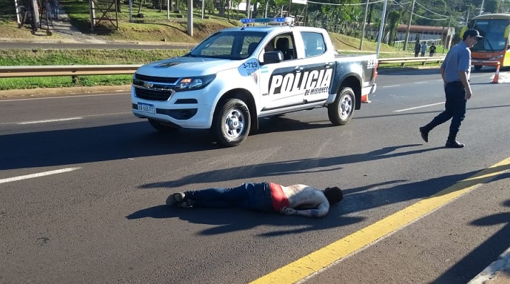 Fin de la fuga: murió atropellado por un camión el joven acusado de haber raptado y violado a la nena en Pozo Azul