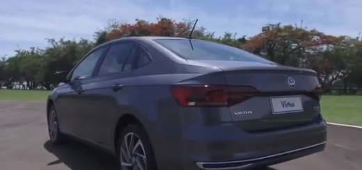 """Lowe SA presentó el """"Virtus"""", un nuevo sedán de Volkswagen que combina tecnología y seguridad"""