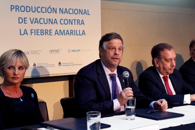 Argentina comenzará a producir la vacuna contra la fiebre amarilla