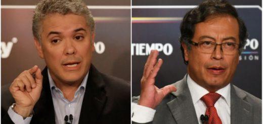 Elecciones en Colombia: Iván Duque y Gustavo Petro definirán la presidencia en segunda vuelta