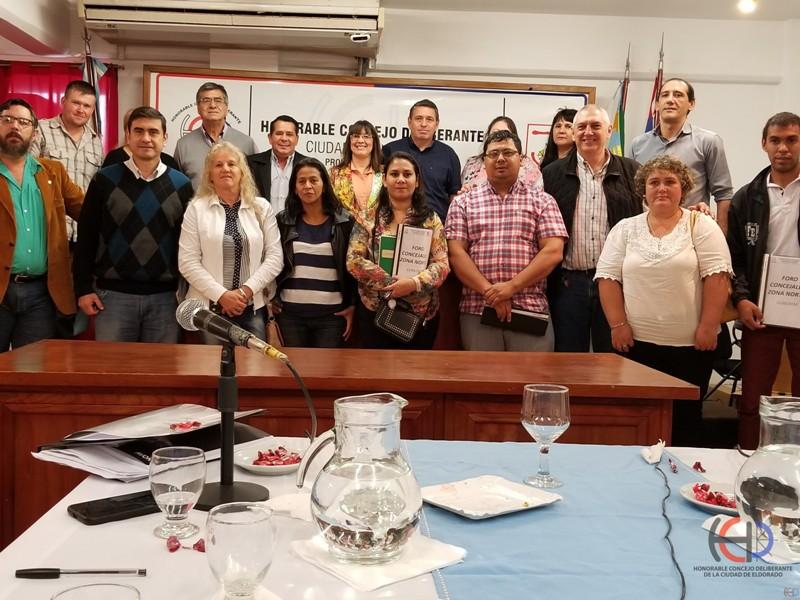 Volverán a conformar el Foro de Concejales de la Zona Norte