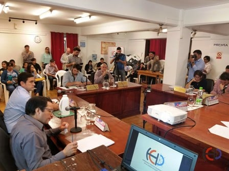 El Concejo de Eldorado aprobó el Balance 2017 del municipio, con voto dividido