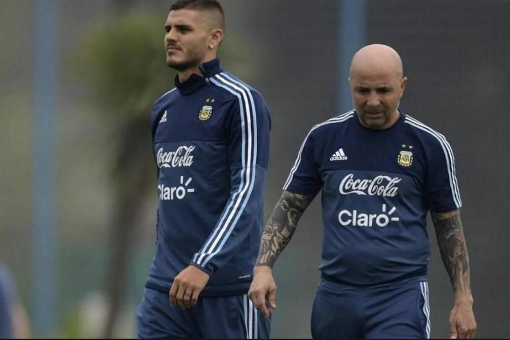 Las razones de Jorge Sampaoli para no llevar a Mauro Icardi al Mundial Rusia 2018