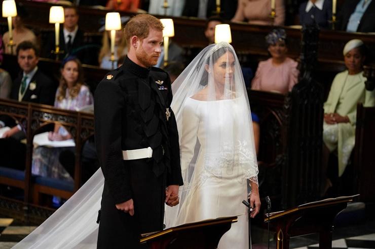 Boda Real: Meghan Markle y el Príncipe Harry ya son esposos