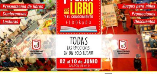 Este sábado comienza la Feria del Libro y el Conocimiento Eldorado 2018