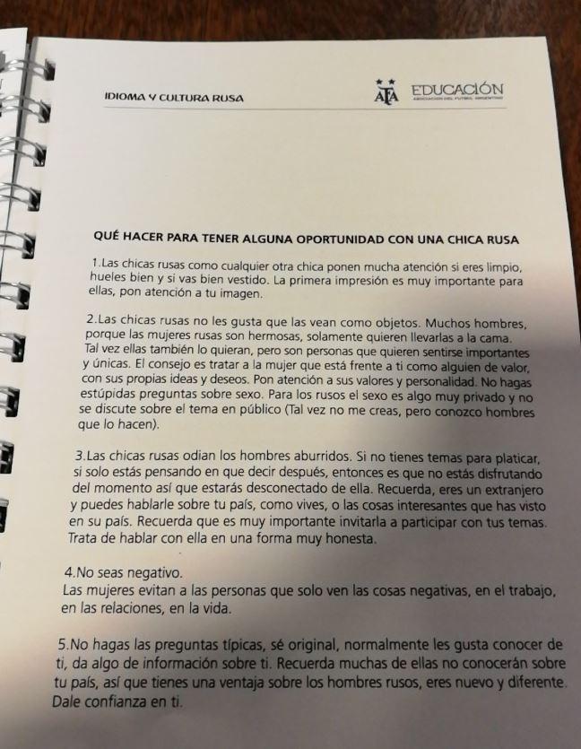 Sumarios administrativos en la AFA tras el escándalo por el manual para periodistas