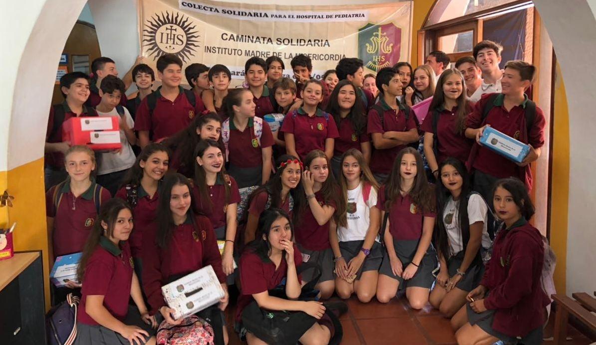 El Colegio Madre de la Misericordia prepara su celebración patronal con donaciones, caminata y misa