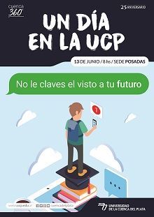 """Organizan la jornada """"Un día en la UCP"""""""