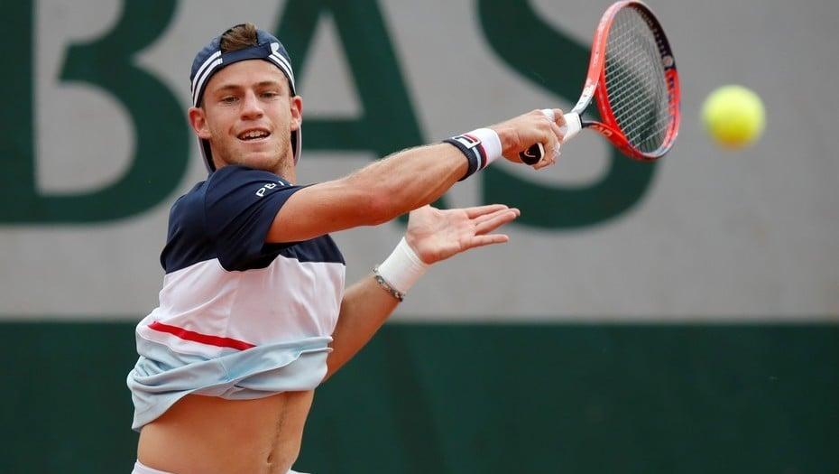 Tenis: el argentino Diego Schwartzman arrancó con una victoria su participación en Roland Garros