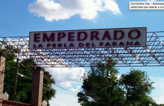 Corrientes: Adolescentes fueron detenidos por atacar a una joven en la calle