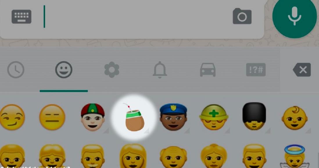 El emoji del mate cada vez más cerca de llegar a nuestros teléfonos