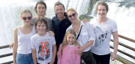 """""""La selva y las Cataratas nos regalaron una gran experiencia en familia"""", dijo Valeria Mazza en su visita a Iguazú"""