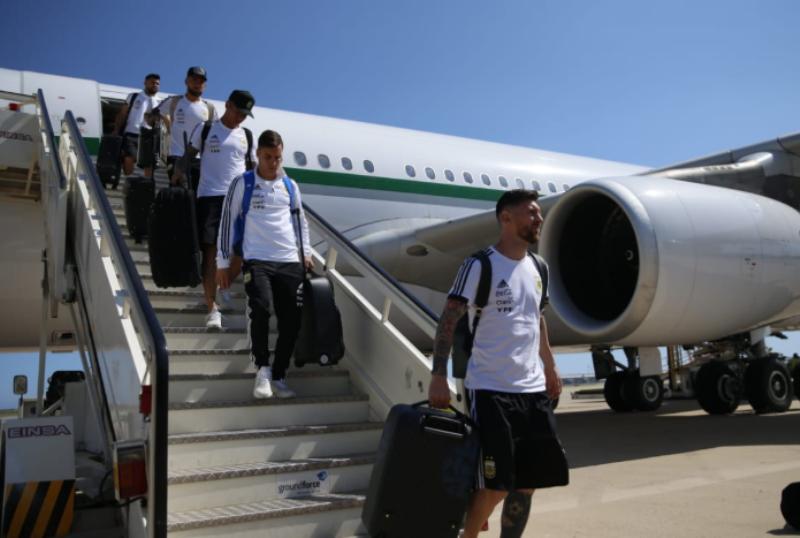 #Mundial2018: La selección Argentina llegó a Barcelona y se prepara para el amistoso ante Israel