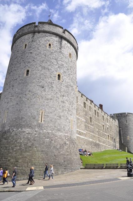 Visitando el castillo de Windsor, lugar de bodas reales