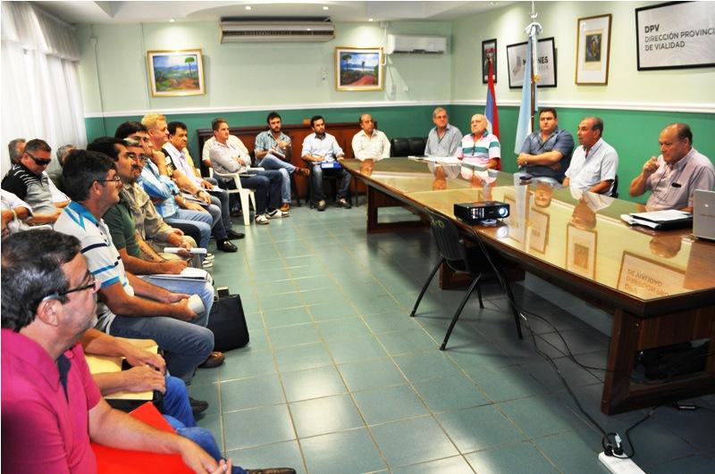 Vialidad provincial evaluó actividades