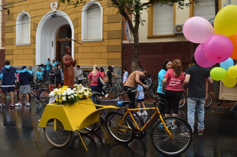 Se suspendió la XIX edición de la bicicleteada solidaria del Colegio Roque González