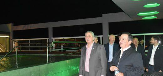 """Passalacqua destacó a los """"misioneros que apuestan a la producción"""" al dejar inaugurado nuevo hotel en Iguazú"""