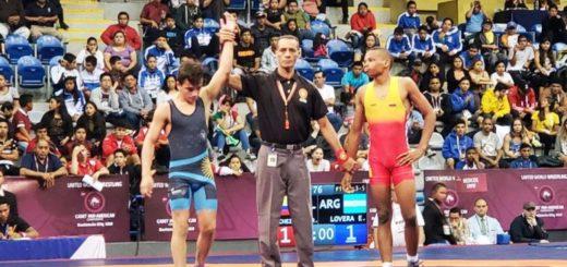 El luchador posadeño Eduardo Lovera logró el bronce en el Panamericano que se disputa en Guatemala y el Gobernador Passalacqua lo saludó