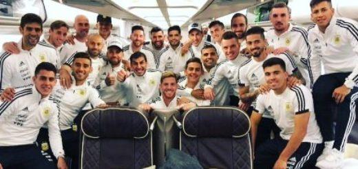 #Mundial2018: La Selección se despidió de la Argentina para arrancar el camino previo al Mundial