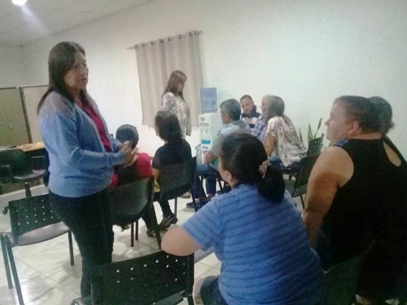 Vacunación y charla previsional en la sede del IPS en San Antonio