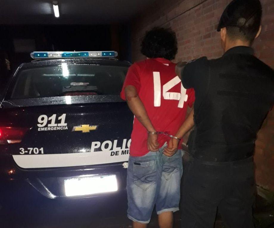 Amenazó y golpeó a su mujer en plena calle: preso
