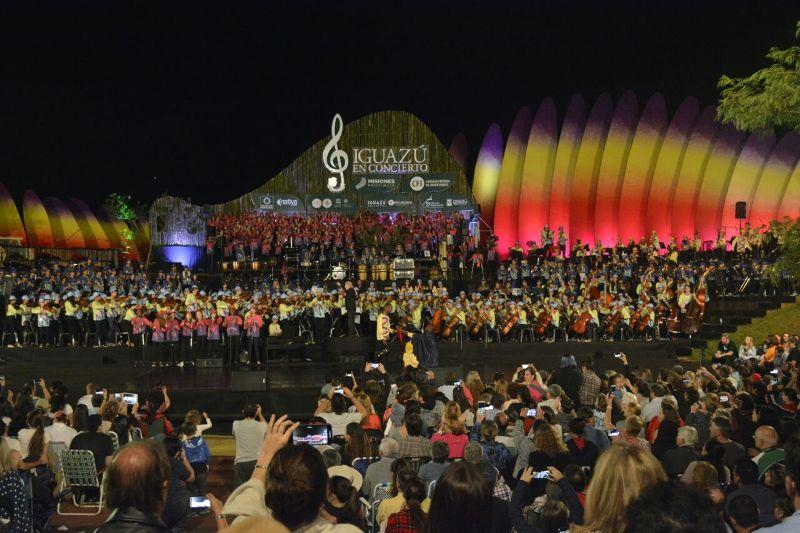 Iguazú en Concierto 2018: el festival de música más maravilloso del mundo cerró ayer su IX edición