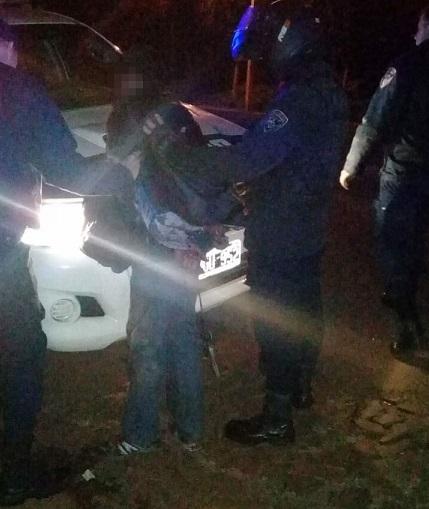 En Oberá detienen a un irascible sujeto que intentó apuñalar a un policía