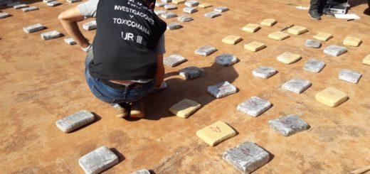 Colonia Mado: tras tiroteo cayó narco con 100 kilos de marihuana