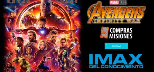 ¿Todavía no la viste?... Avengers: Infinity War en el IMAX…Las entradas las abonás en Compras Misiones