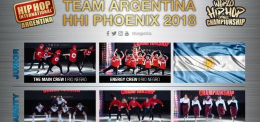 La Crew Juvenil Femenina de la academia Davinci representará a la Argentina en el escenario del Mundial de Hip-Hop 2018 de Estados Unidos