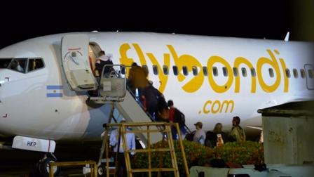 Con pasaje lleno, Flybondi inauguró su vuelo diario de Posadas a Buenos Aires