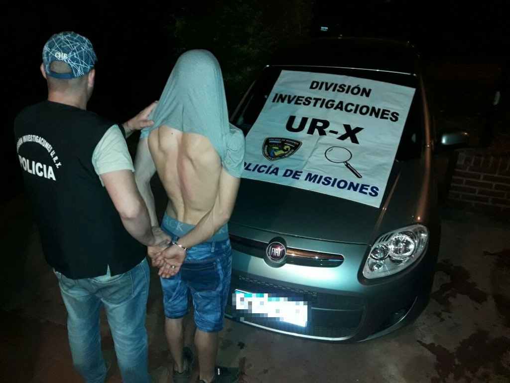 Estaban intentando vender en Posadas un auto robado en Buenos Aires y los detuvieron