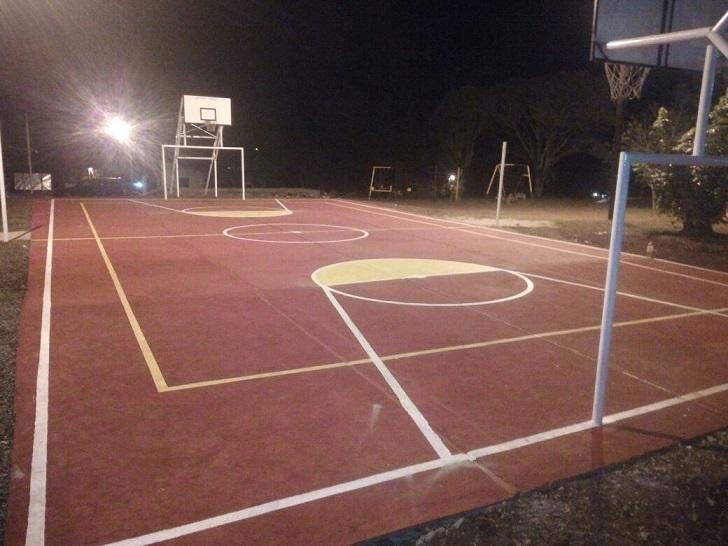 Por primera vez, General Urquiza cuenta con espacios para la práctica deportiva