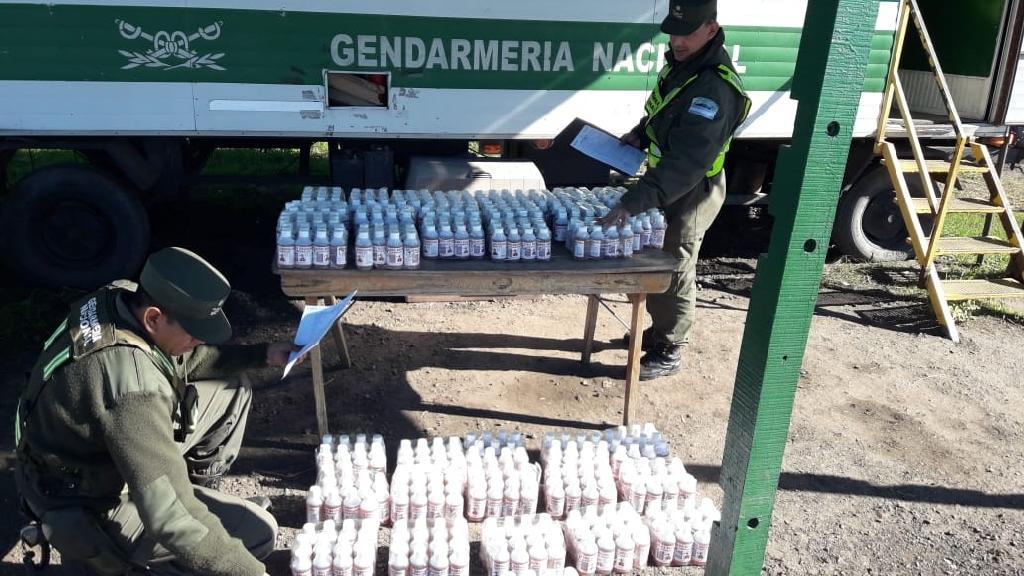 Gendarmería detectó medicamentos de contrabando en un micro que había partido de Misiones