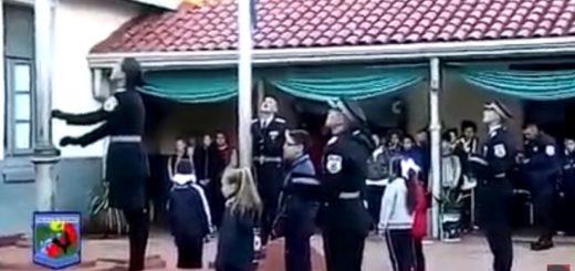 Emotiva mañana patriótica en una de las escuelas más antiguas de la provincia