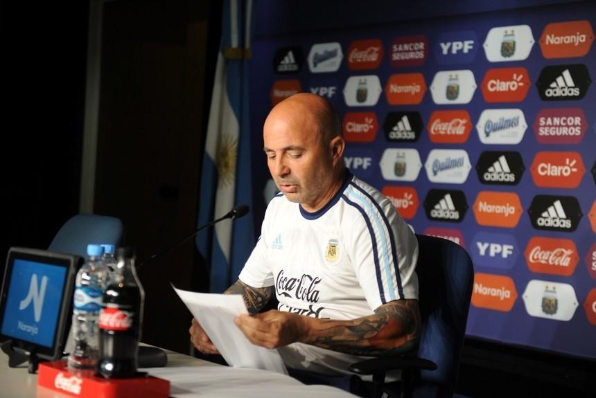 #Mundial2018: Sampaoli oficializó la lista de los 23 convocados de la Selección