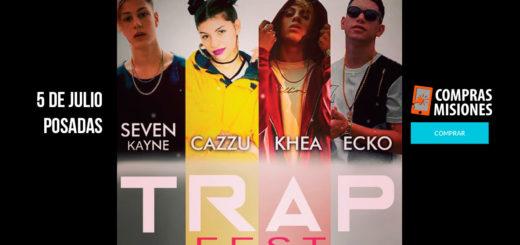Trap Fest en Posadas: Es el festival de música trap más grande del país…Adquirí ya las anticipadas en Compras Misiones